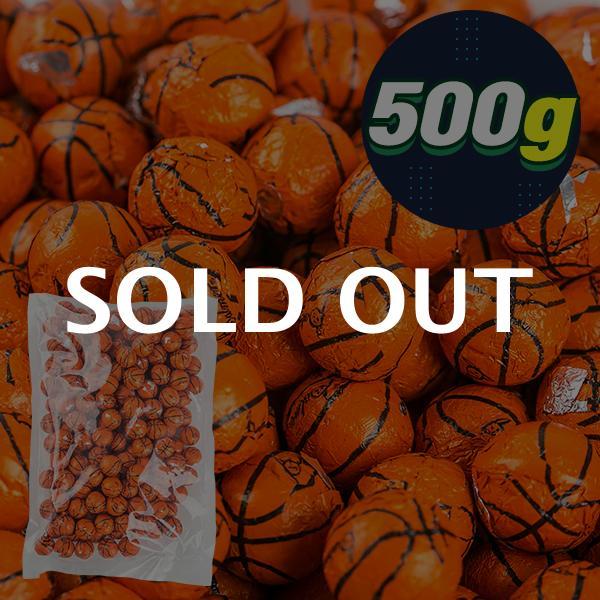 (대용량간식) 미성패밀리 팔머초콜릿(농구공) 500g