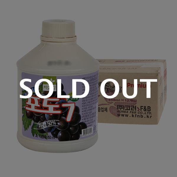 차그림 포도주스원액 850ml 12입이식사