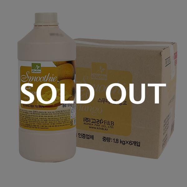 차그림 스무디앤망고 1.8kg 6입이식사