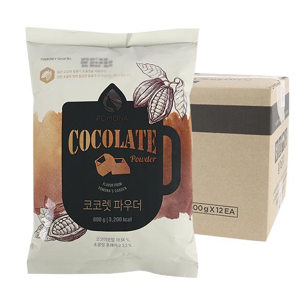 포모나 코코렛(초콜릿)파우더 초코 800g 12입이식사