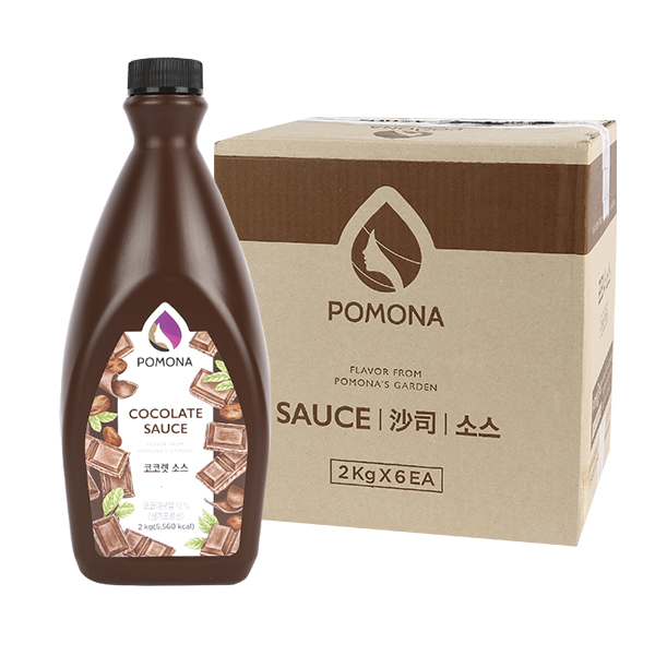 포모나 코코렛(초콜릿)소스 초코 2kg 6입이식사