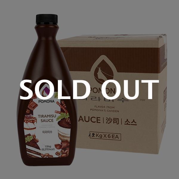 포모나 티라미수 소스 1.9kg 6입이식사