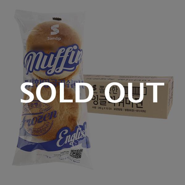 삼립 머핀빵 240g 10입이식사