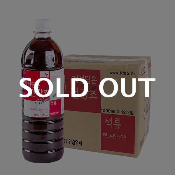 차그림 계절담은 건강초 석류 1000ml 12입이식사