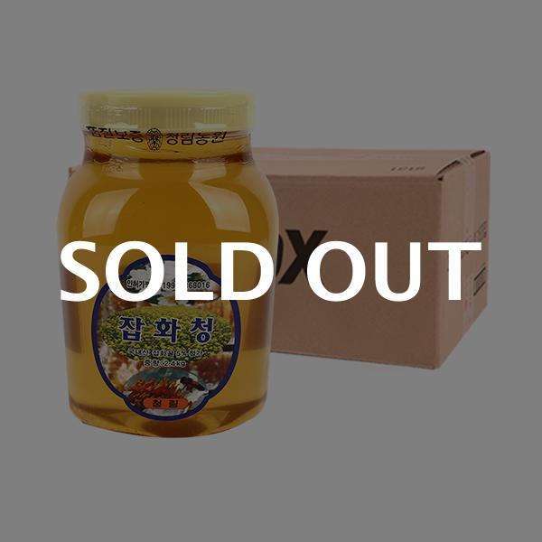 청림 꿀 잡화청 2.4kg 8입이식사