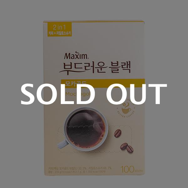 맥심 부드러운 블랙 모카골드 100T 270g이식사