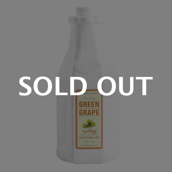 까로망 청포도농축액 2kg이식사