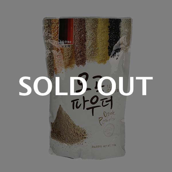 베오베 오곡 파우더 1kg이식사