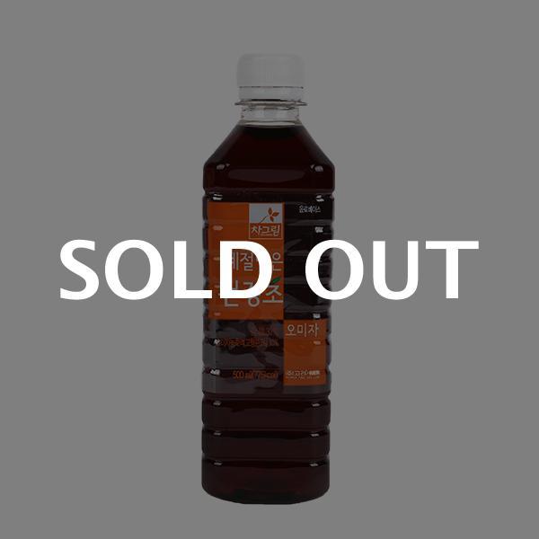 차그림 오미자감식초 500ml이식사