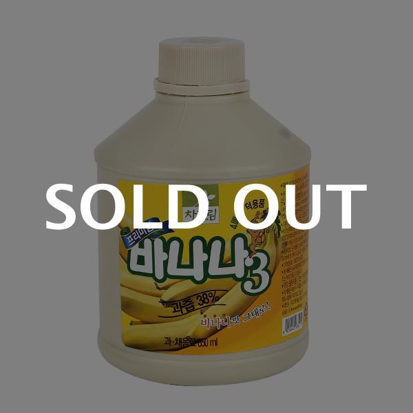 차그림 바나나주스원액 850ml이식사