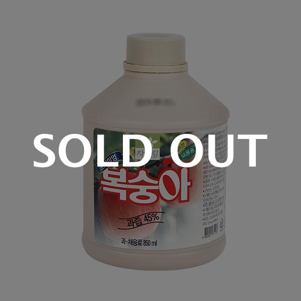 차그림 복숭아주스원액 850ml이식사