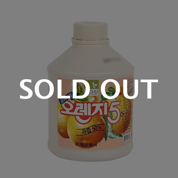차그림 오렌지주스원액 850ml이식사