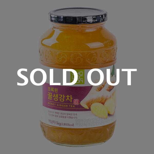 초록원 꿀생강차 1kg이식사
