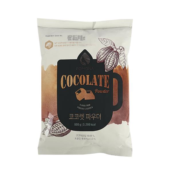 포모나 코코렛(초콜릿)파우더 초코 800g이식사