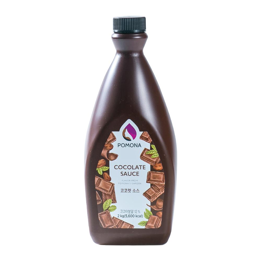포모나 코코렛(초콜릿)소스 초코 2kg이식사