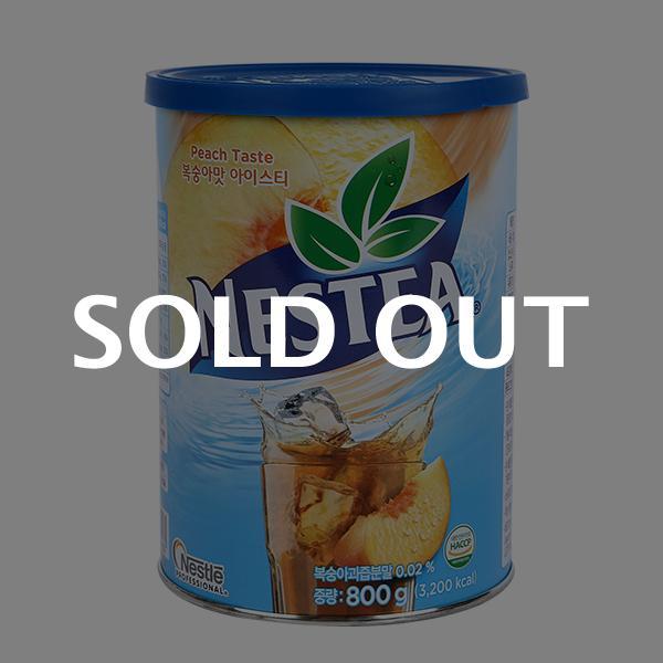 네슬레 복숭아티(캔) 800g이식사