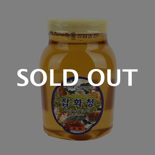 청림 꿀 잡화청 2.4kg이식사