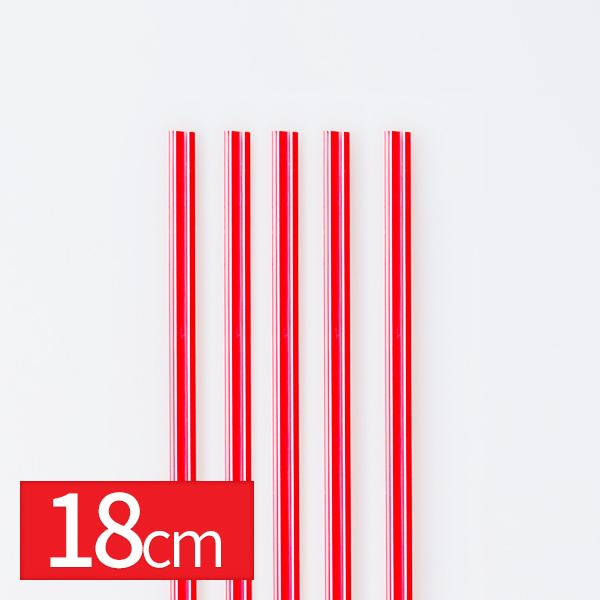커피스틱 빨강(대) 18cm 1000입이식사