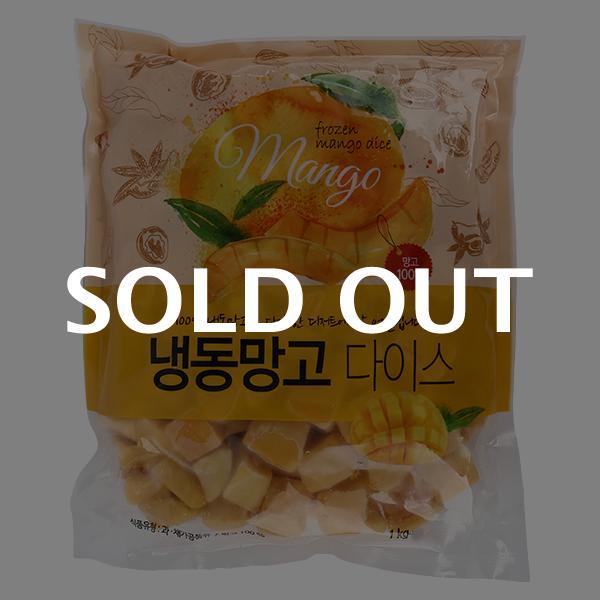 베트남 냉동 망고 1kg이식사