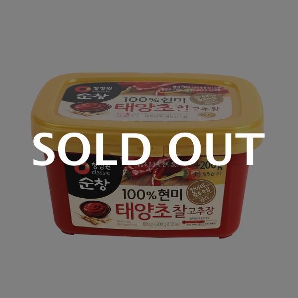 청정원 현미태양초찰고추장 800g+200g이식사