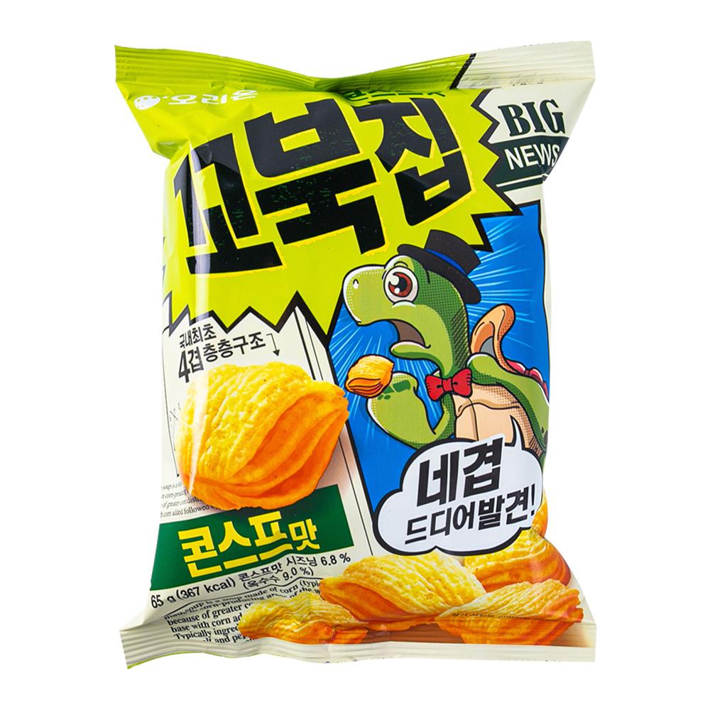 오리온 꼬북칩 콘스프맛 65g이식사