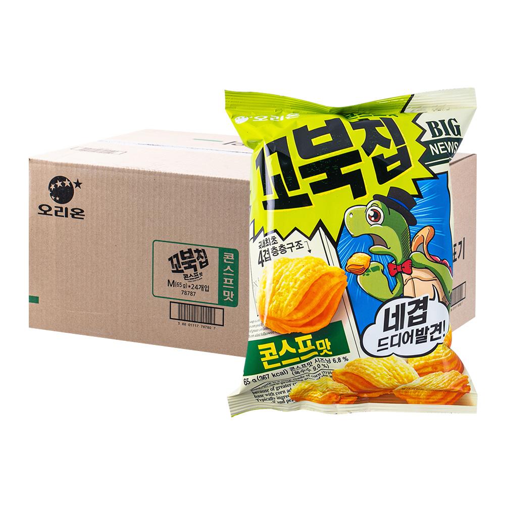 오리온 꼬북칩 콘스프맛 65g 20입이식사
