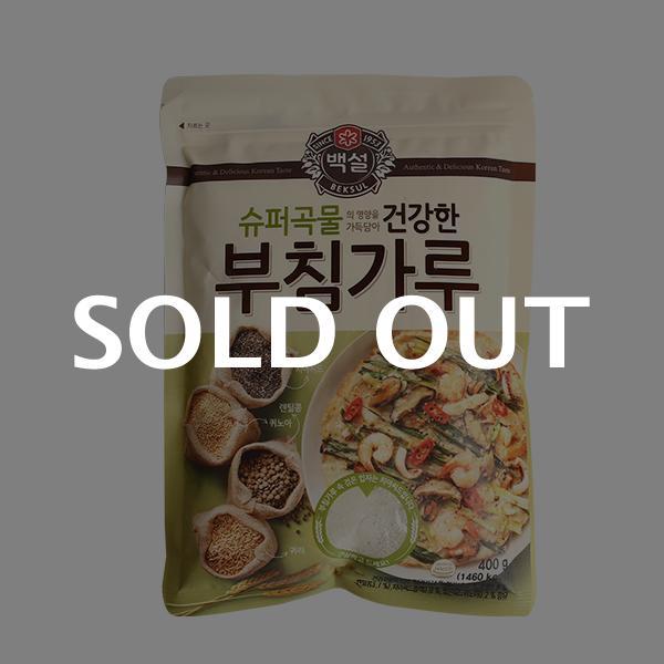 CJ 슈퍼곡물 건강한 부침가루 400g이식사