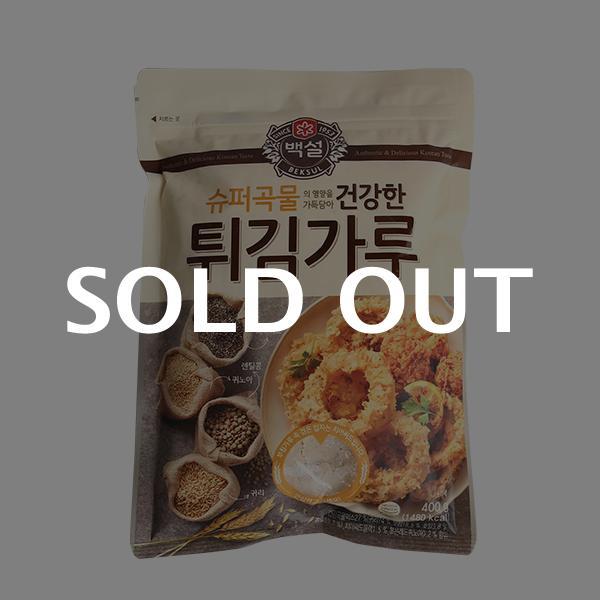 CJ 슈퍼곡물 건강한 튀김가루 400g이식사