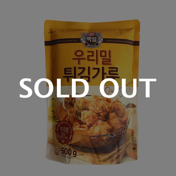 CJ 우리밀 튀김가루 500g이식사