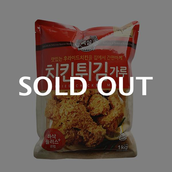CJ 치킨튀김가루 1kg이식사
