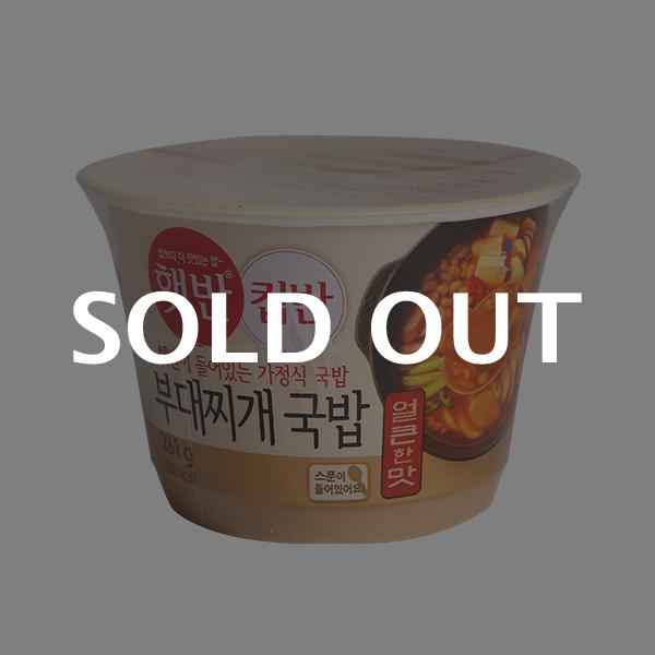 CJ 컵반 부대찌개국밥 261g이식사