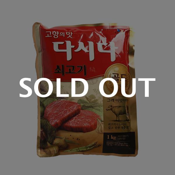 CJ 다시다 골드 쇠고기(식당용) 1kg이식사