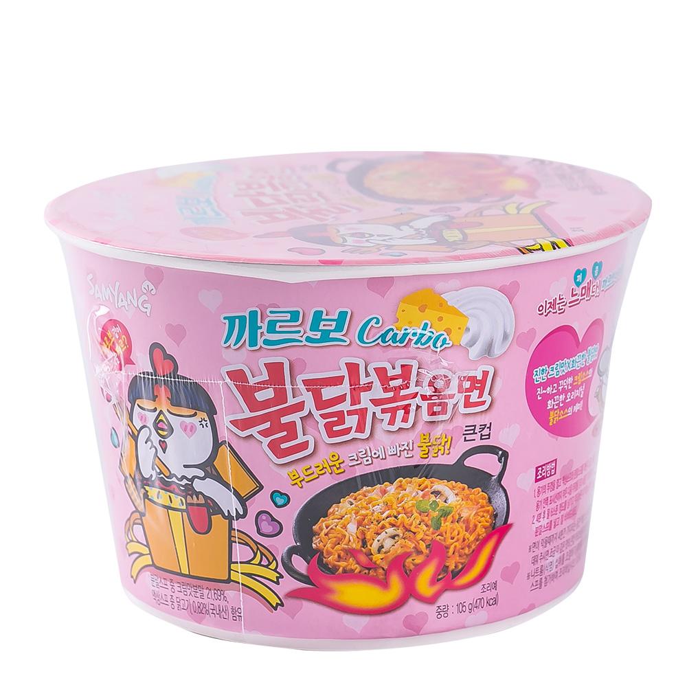 삼양 까르보불닭볶음면 큰컵 105g이식사