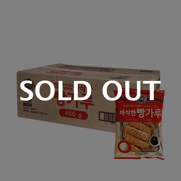 CJ 바삭한 빵가루 450g 12입이식사