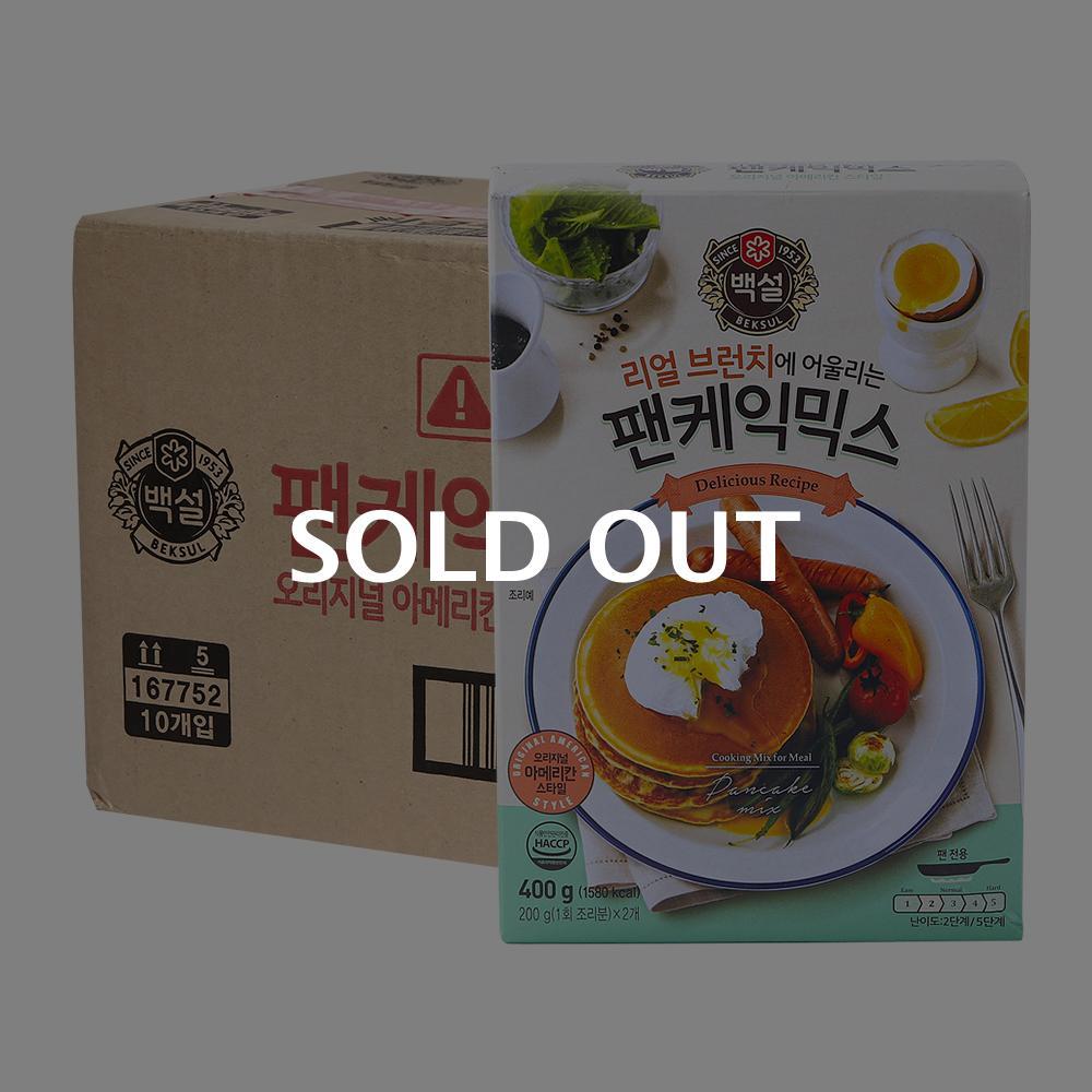 CJ 팬케익믹스 400g 10입이식사