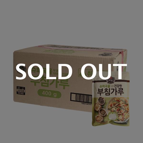 CJ 슈퍼곡물 건강한 부침가루 400g 20입이식사