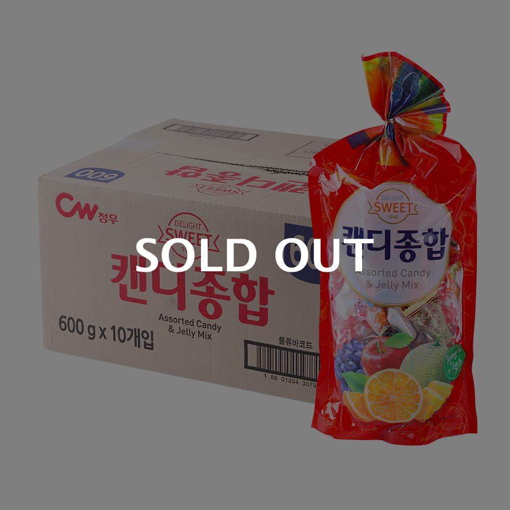 청우 캔디종합 600g 10입이식사