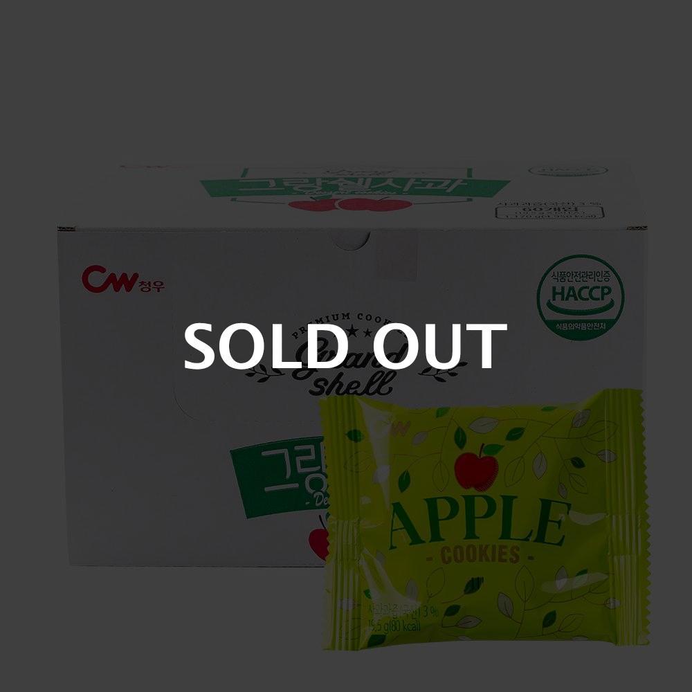 청우 그랑쉘 사과 19.5g 60입이식사