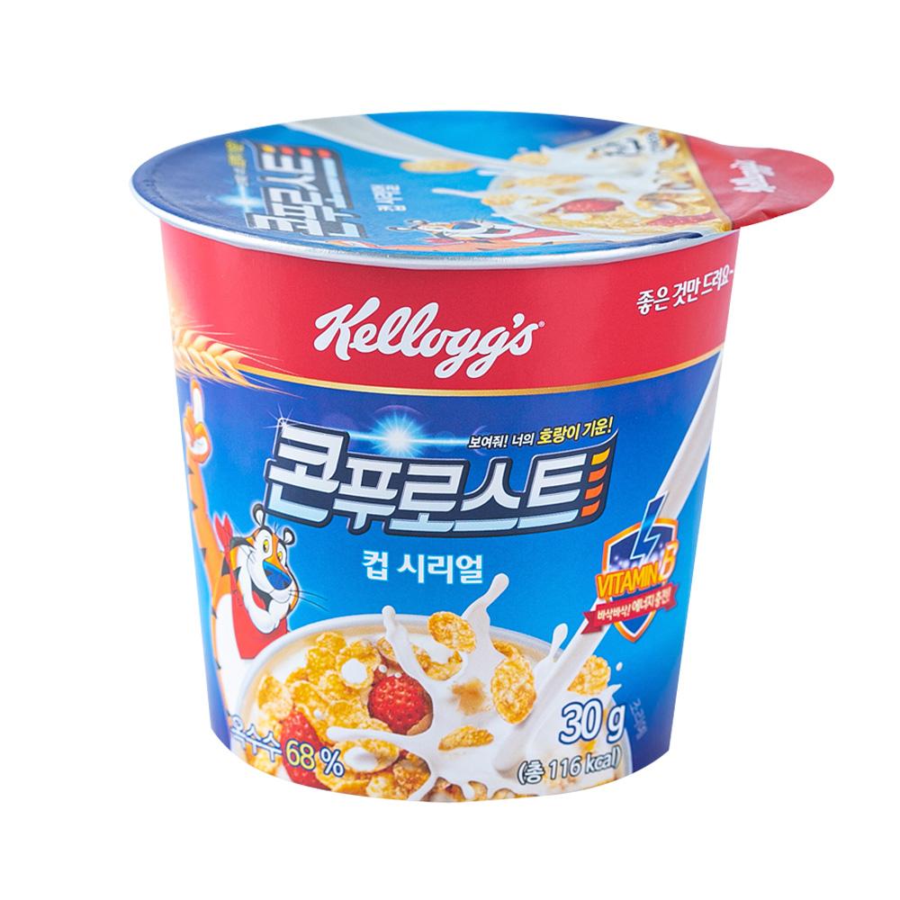 켈로그 콘푸로스트(컵) 씨리얼 30g이식사