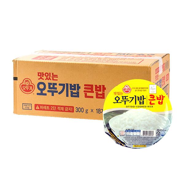 오뚜기 큰밥 300g 18입이식사