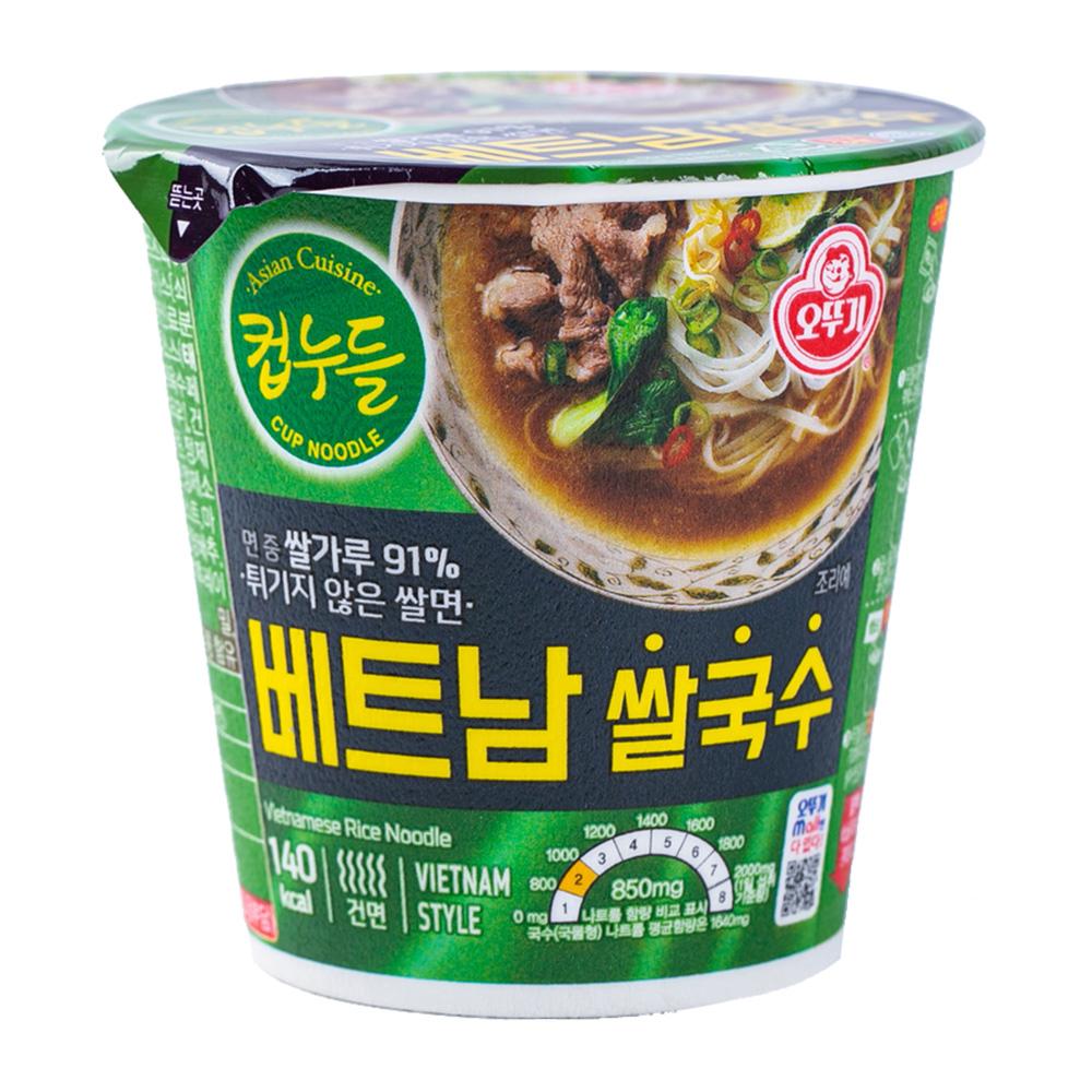 오뚜기 컵누들 베트남쌀국수 소컵 47g이식사