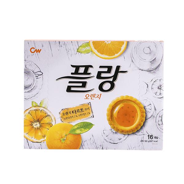 청우 플랑 오렌지 160g이식사