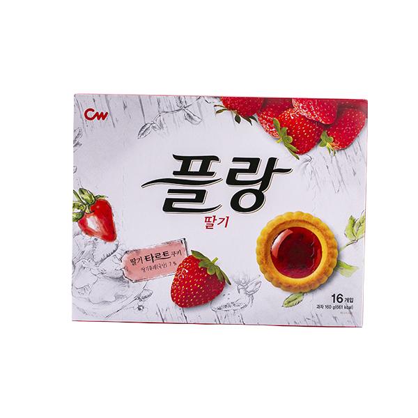 청우 플랑 딸기 160g이식사