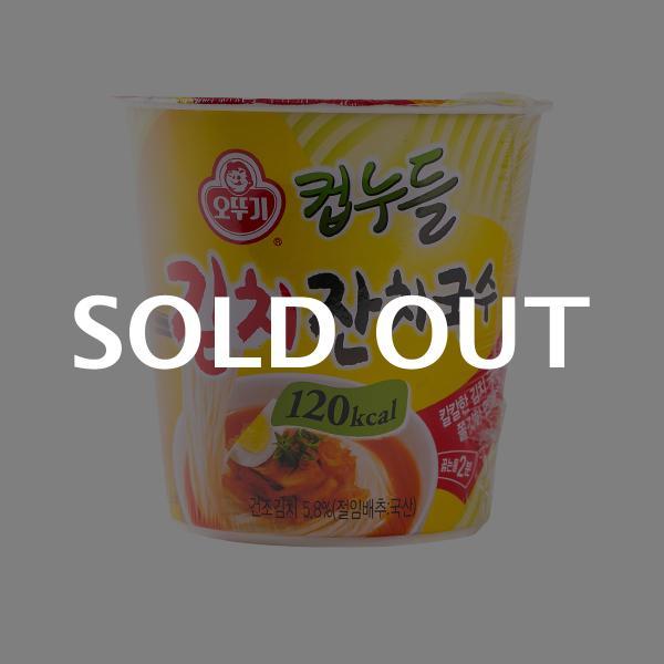 오뚜기 컵누들 김치잔치국수 소컵 41g이식사