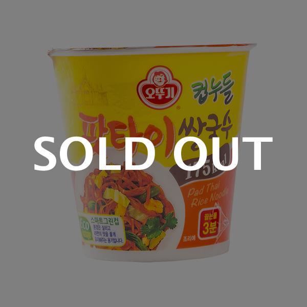 오뚜기 컵누들 팟타이쌀국수 소컵 50g이식사