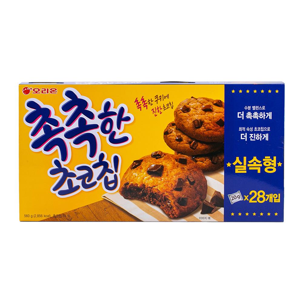 오리온 촉촉한초코칩 240g이식사
