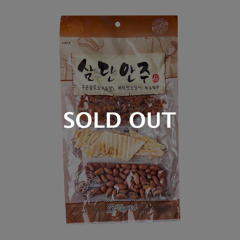 서울지앤비 삼단안주 70g이식사