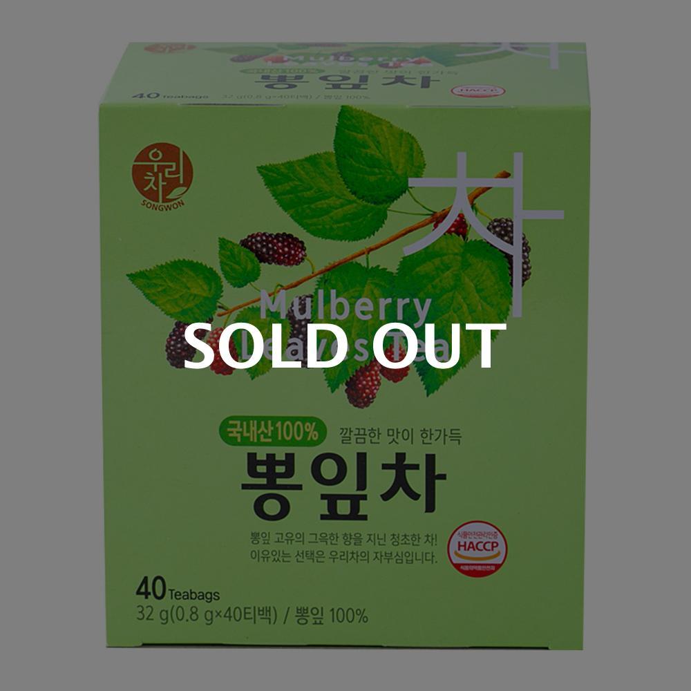 송원 뽕잎차 40T이식사