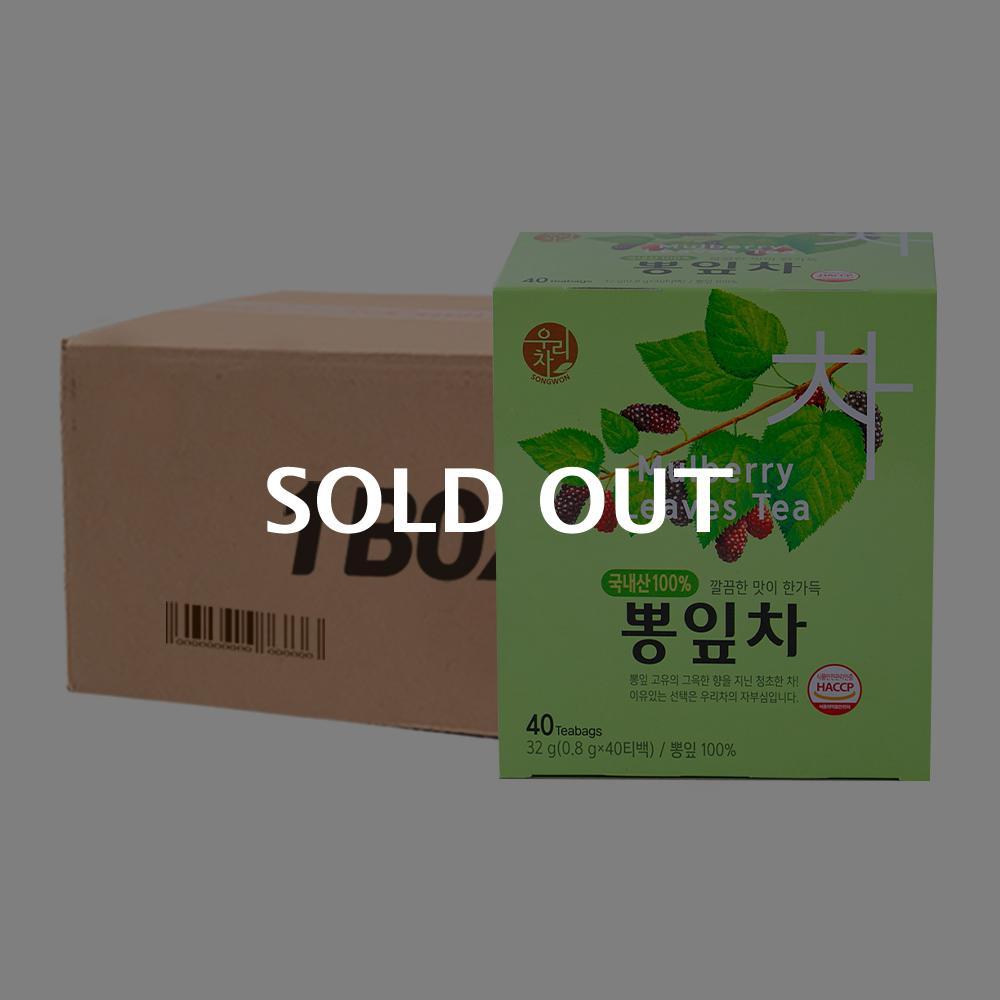 송원 뽕잎차 40T 16입이식사