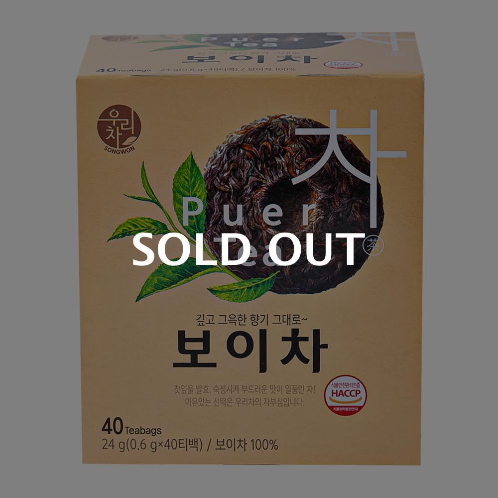 송원 보이차 40T이식사